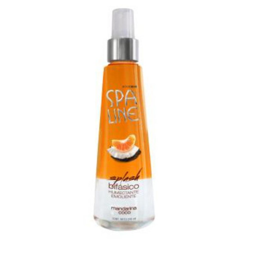 splash bifásico spa line humectante emoliente - aroma mandar