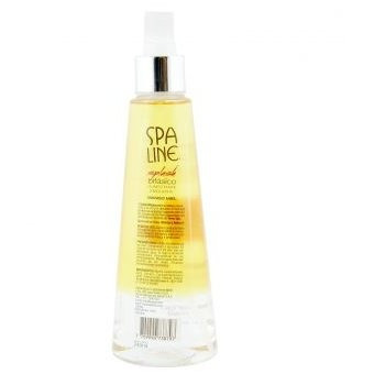 splash bifásico spa line humectante y emoliente - mango miel