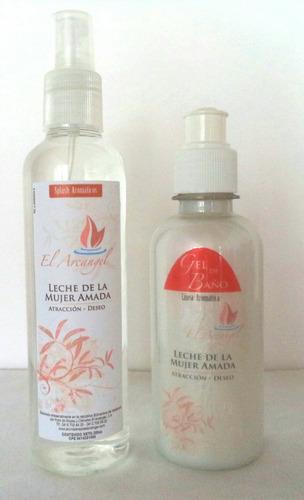 splash de aromaterapia el arcangel. geles y sales de baño.