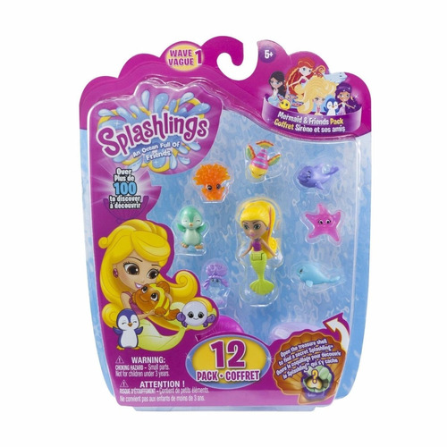 splashlings mermaid and friends series 1 coral canyon