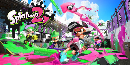 splatoon 2 nintendo switch juego original fisico sellado