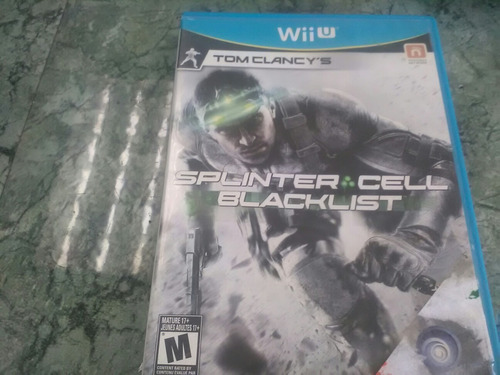 splinter cell black list nintendo wii u