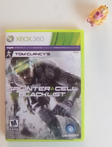 splinter cell blacklist xbox 360 + envío gratis