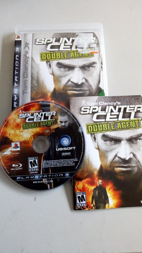 splinter cell double agent para ps3