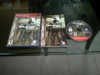 splinter cell stealth action redefined para play station 2