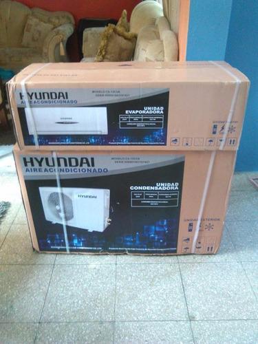 split semi-inverter hyundai 12000btu, con garantia