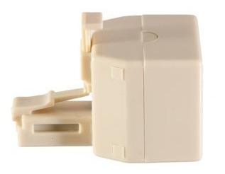 spliter adaptador dual ficha telefonica rj11 - factura a / b