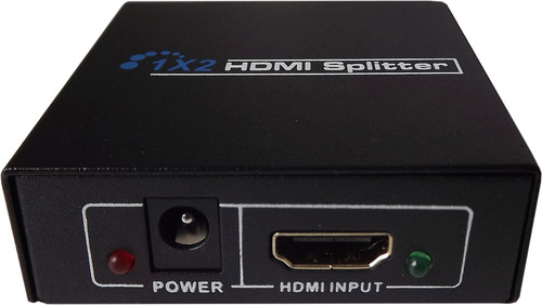 spliter de video hdmi 2 puertos / 3389