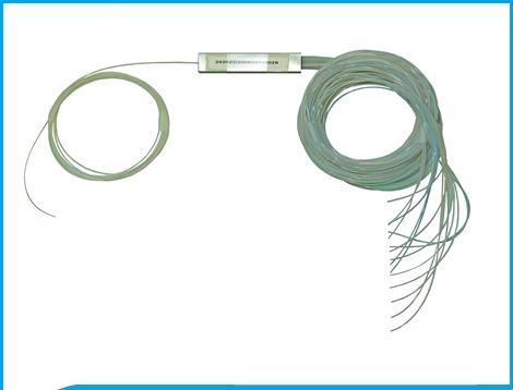 splitter 1/16 fibra optica divisor spliter fusão 1x16