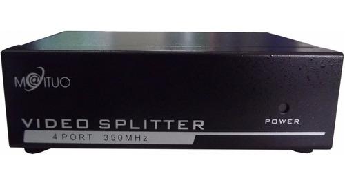 splitter de video vga de 4 puertos / 3390