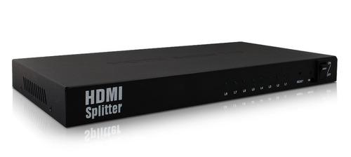 splitter distribuidor divisor hdmi 8 saidas 1x8 ver.1.4 3d