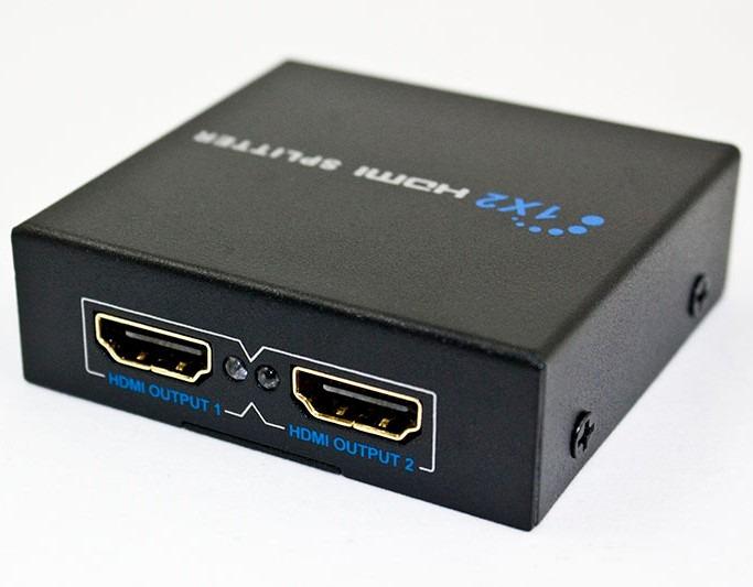 Splitter hdmi 1 2 divisor de se al amplificador conecta 2 - Amplificador senal tv ...