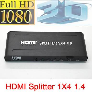 splitter hdmi de 1 a 4 salidas
