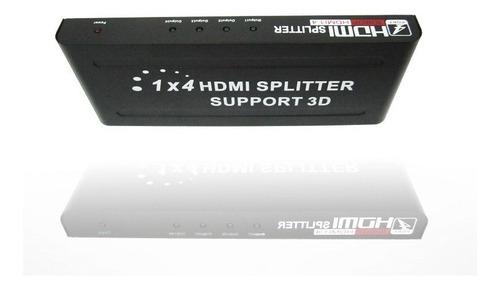 splitter hdmi repetidor 1 entrada 8 salidas soporta 3d 1080p
