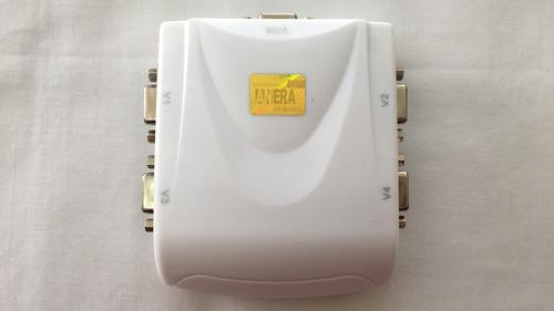 splitter multiplicador vga de 4 puertos 1 entrada 4 salidas