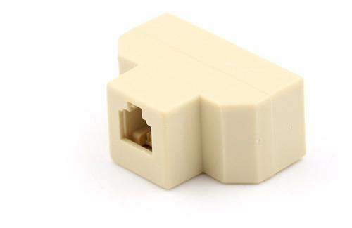 splitter o divisor telefonico 3 salidas rj-11