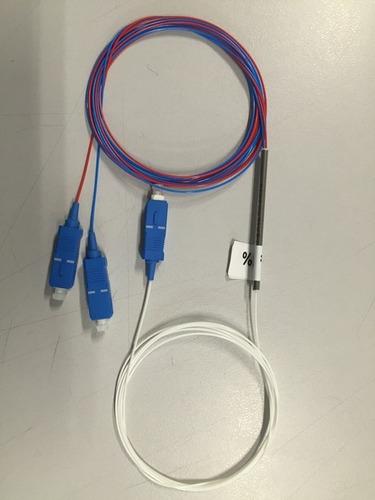 splitter óptico desbalanceado 1x2 50-50% conectorizado  upc
