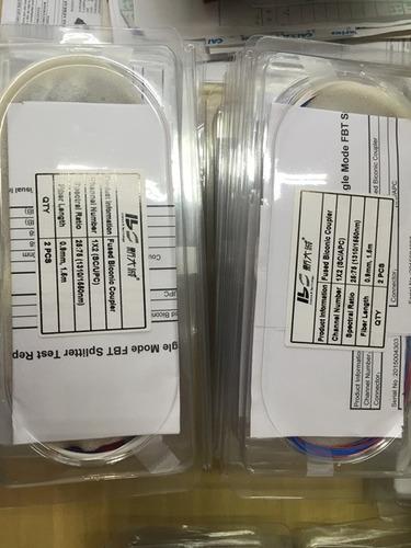 splitter óptico desbalanceado 1x2 conectorizado 25%/75% apc