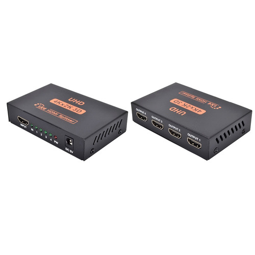 splitter ultra hdmi 1x4 4k - 1080p