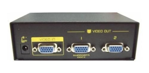 splitter vga amplificado 2 salidas, 250 mhz 1920x1440