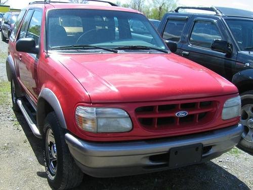 spoiler babero ford explorer 1995 - 2001 sin hueco