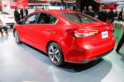 spoiler de cajuela kia forte 2015-2017 sedan tipo original