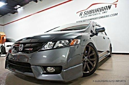 Spoiler Dianteiro Mugen Honda Civic Ou Civic Si 2009 2010 20