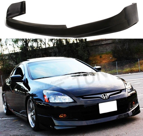 spoiler en facia defensa honda accord coupe 2003 - 2005