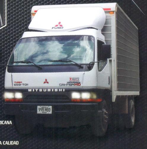 spoiler en fibra de vidrio para camion 350