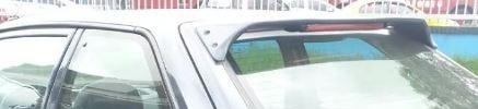 spoiler espoiler con tercer stop mazda 323 coupe fibra negro