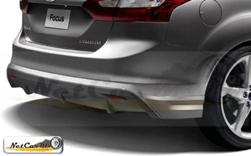 spoiler faldon trasero ford focus sedan 2011 2014 original