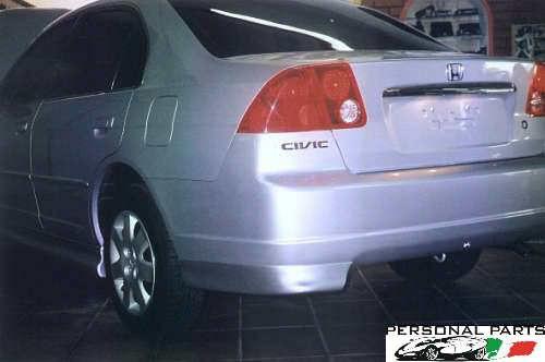 spoiler honda civic 2001/04 - sem pintar frente ou traseiro
