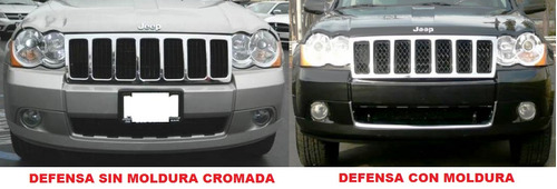 spoiler inferior defensa jeep grand cherokee 2008 - 2010 #