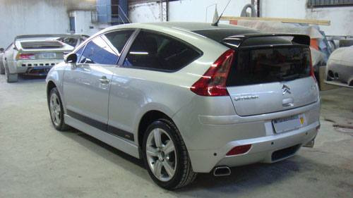 spoiler lateral c4 vtr/hatch
