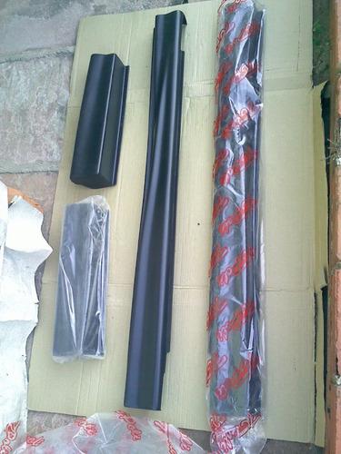 spoiler lateral s10 96 99 cabine estendida caixa ar plastico