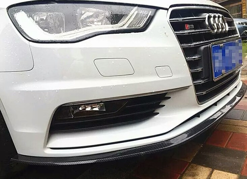 spoiler lip fibra carbono audi gm vw seat ford bmw kia benz