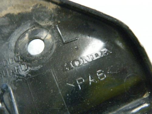 spoiler plastico del radiador lado izquierdo 600rr 07 08