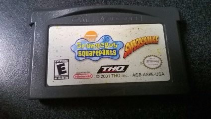 spongebob squarepants supersponge - gba