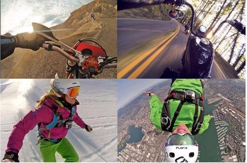 sport cam 4k hd/wifi/moto/carro/16mp/c/remoto