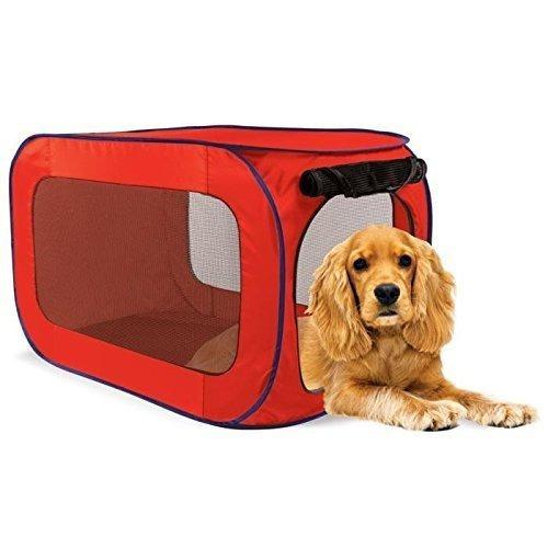 sport pet designs perrera pro abierto del estallido, medio,