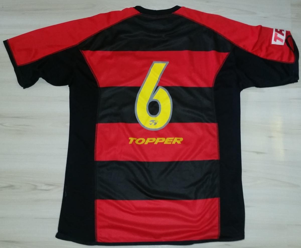 ddcee307e Camisa De Jogo Sport Recife 2003 Topper  6 Tam - R  261