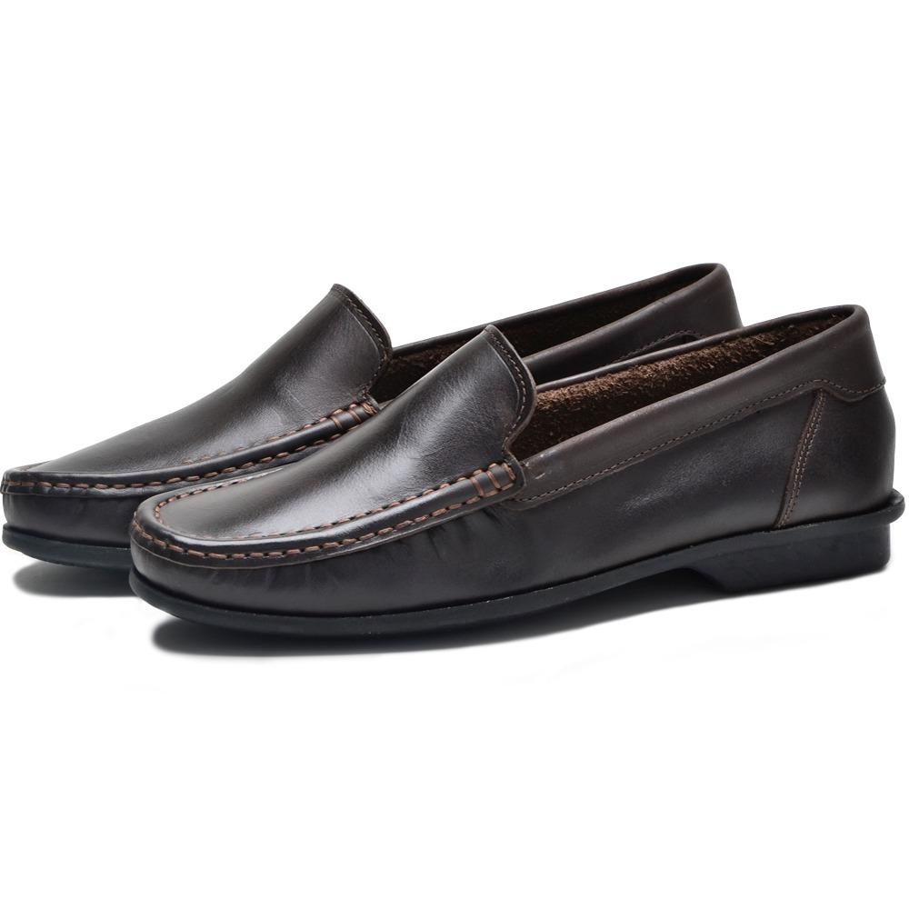 0db0adf0c sport sapatilha mocassim tradicional masculino sapato couro. Carregando  zoom.