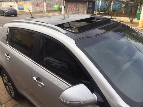 sportage ex automatico + teto solar + flex + 2013