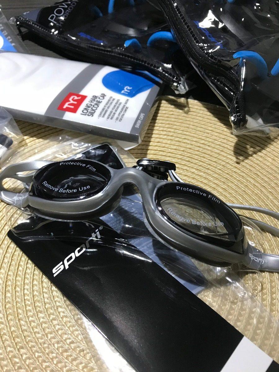 bf4bcbb6d60 sporti antifog plus- óculos natação azul+ antifog tyr. Carregando zoom.
