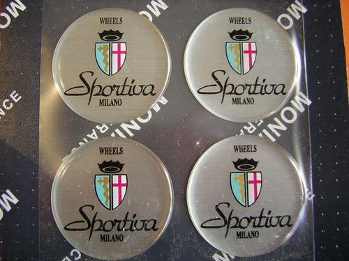 sportiva  - adaptacion logos para centros de llantas