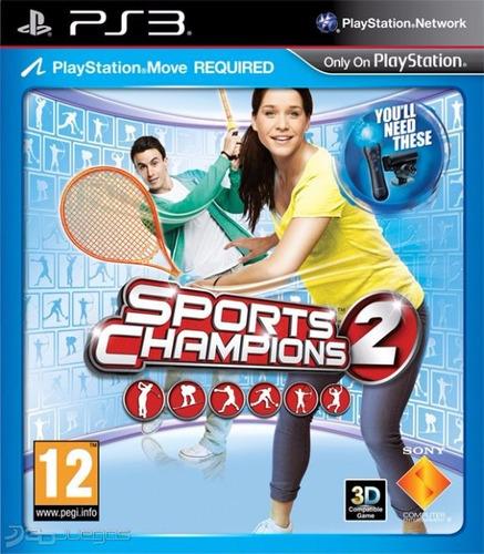 sports champions 2 ps3 formato digital completo promocion ya