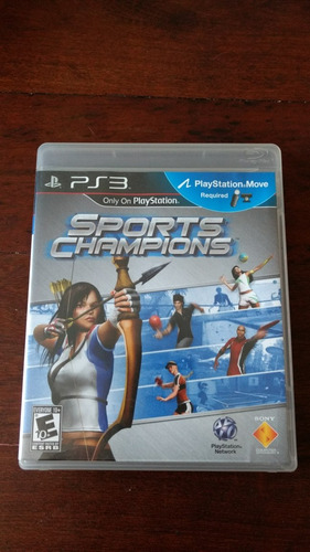 sports champions ps3 fisico
