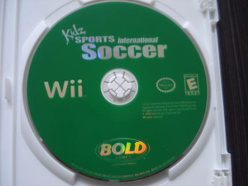 sports international soccer kidz nintendo wii y wii u