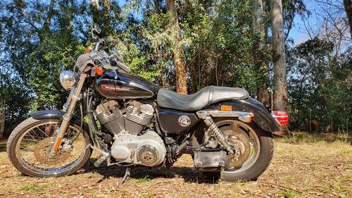 sportster 883 xl custom harley davidson permuto mayor valor