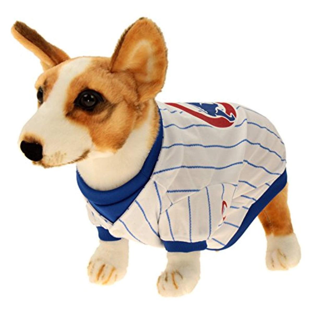 hot sale online 3347b 07dca Sporty K9 Mlb Baseball Dog Jersey, Chicago Cubs X-large